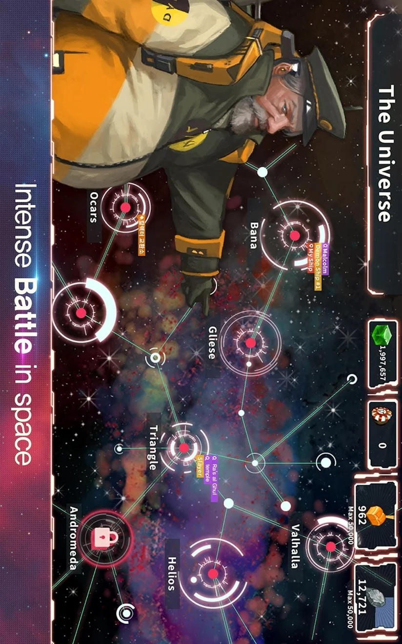 宇宙战争游戏截图