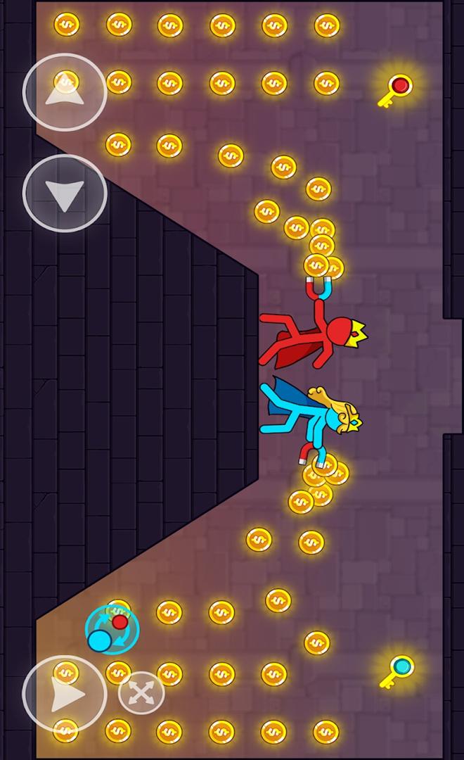 红蓝火柴人游戏截图