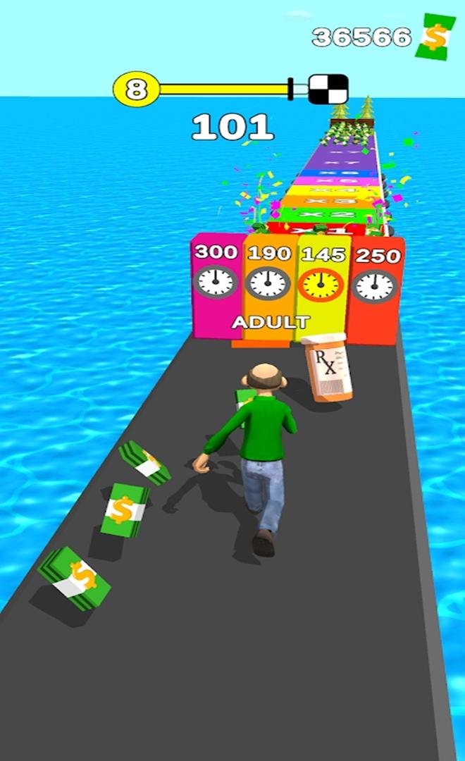 用生命在奔跑游戏截图