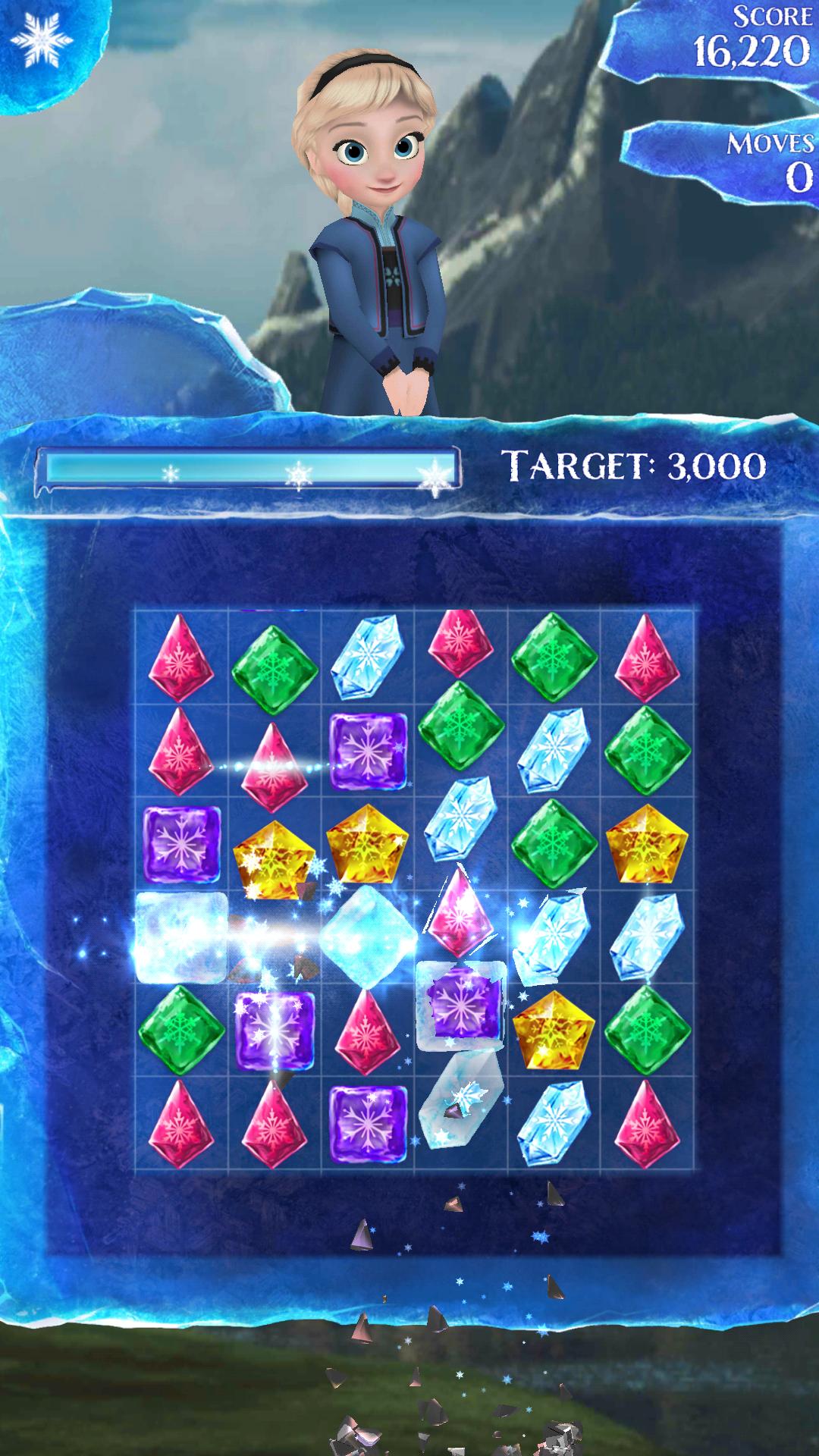 冰雪奇缘冰纷乐2破解版无限生命游戏截图