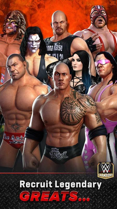 世界摔跤冠军游戏截图