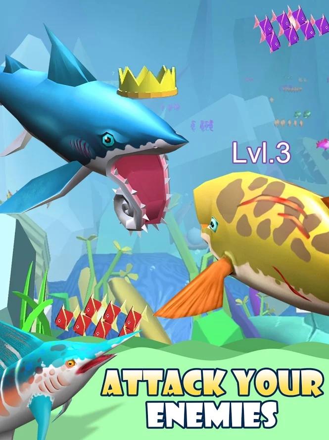 恐龙水世界3D游戏截图
