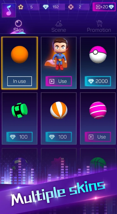 粉碎颜色3D(新歌曲)游戏截图
