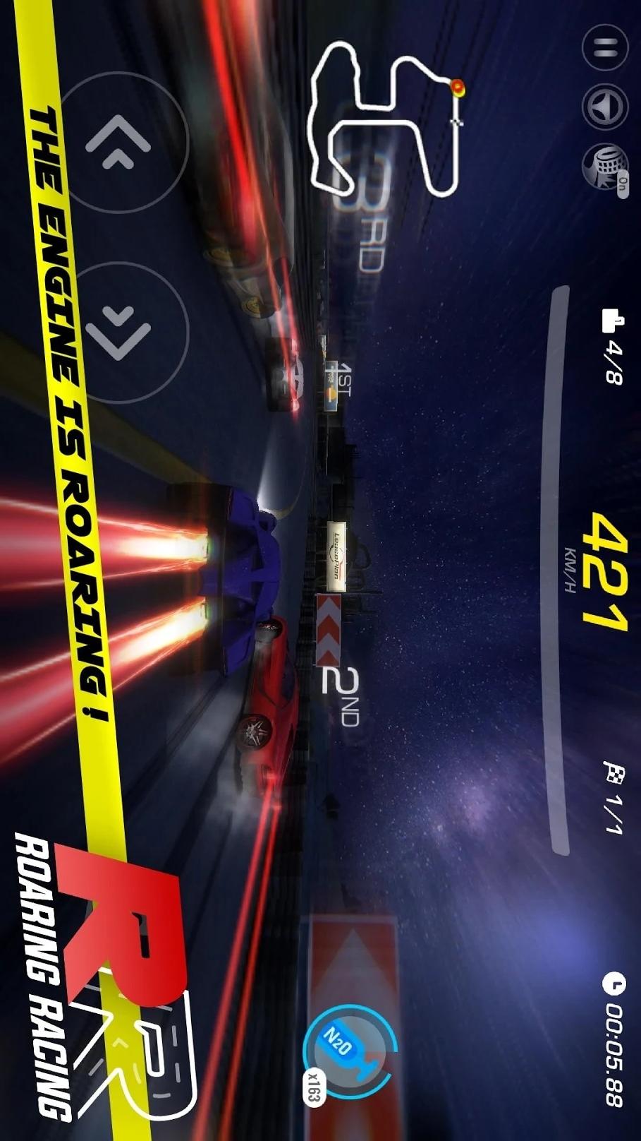 咆哮的赛车游戏截图