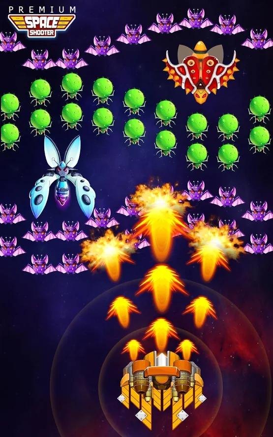 银河之战:深空射手高级版游戏截图