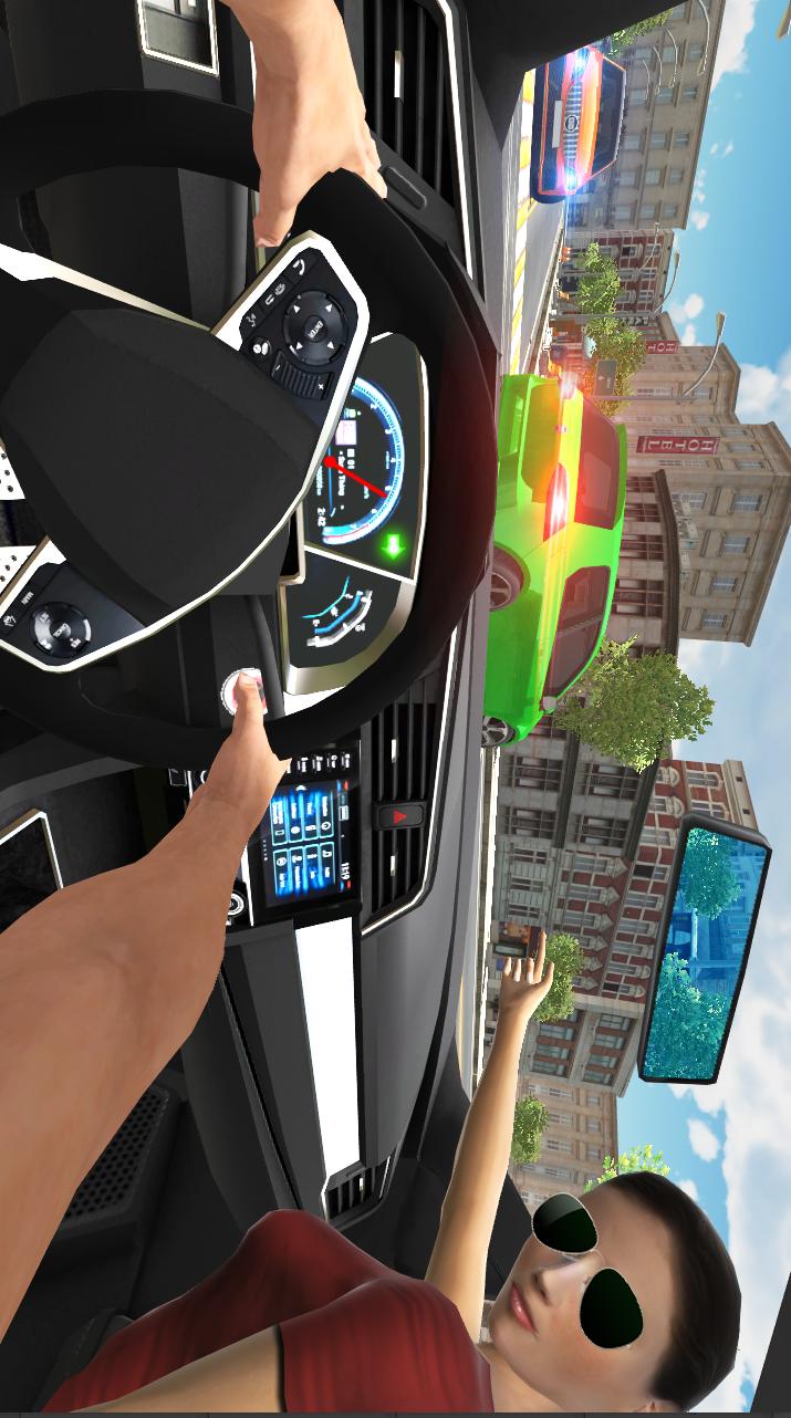 汽车模拟器:城市驾驶游戏截图