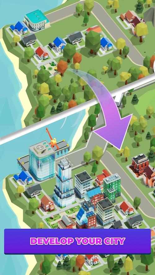放置货运城市大亨游戏截图