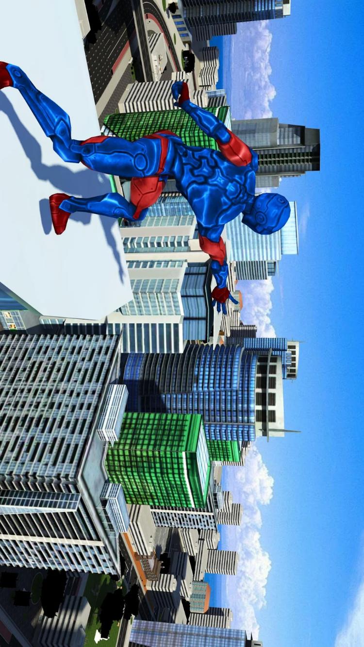 变异蜘蛛英雄:迈阿密绳索英雄游戏游戏截图