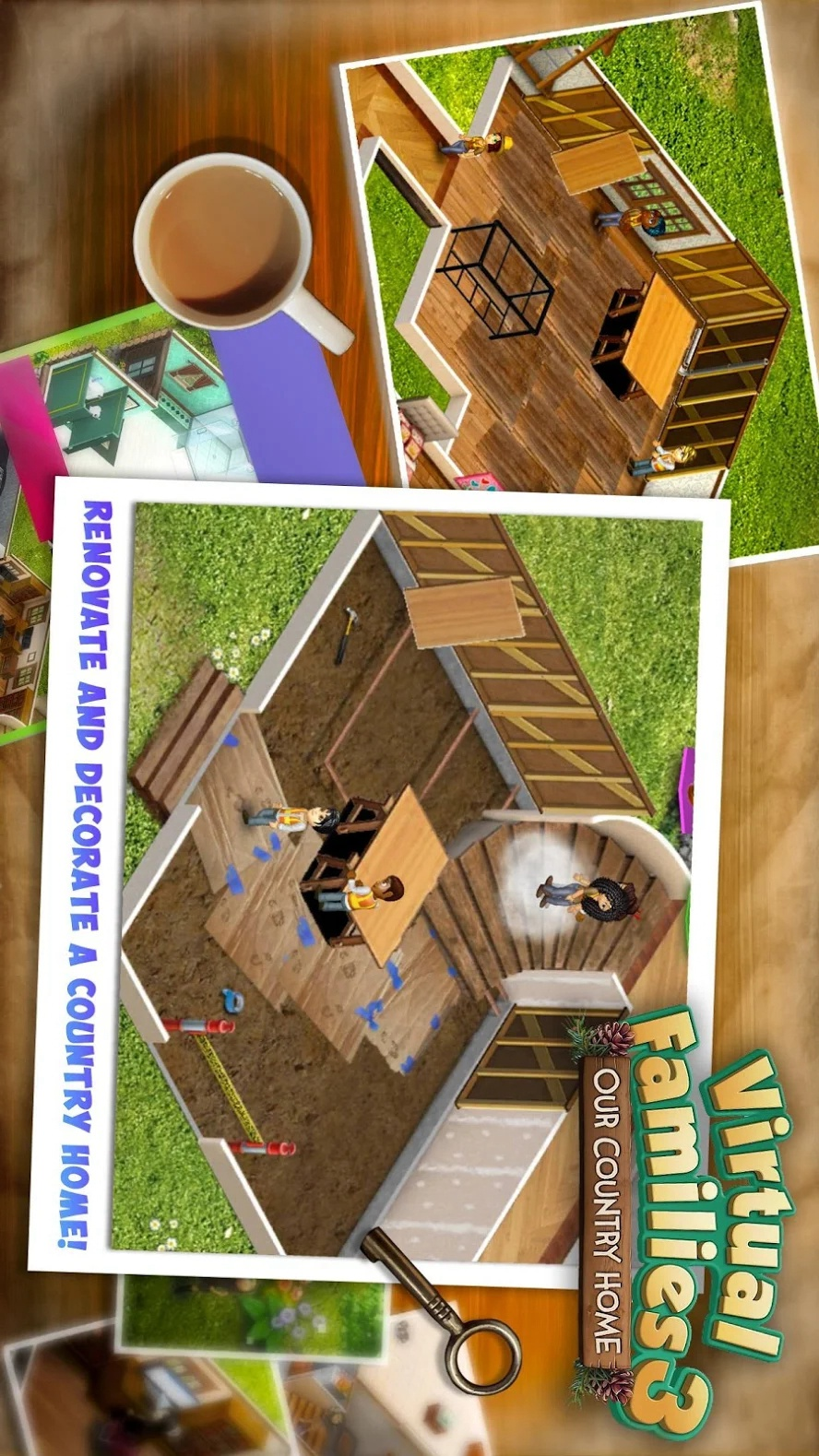 虚拟家庭3游戏截图