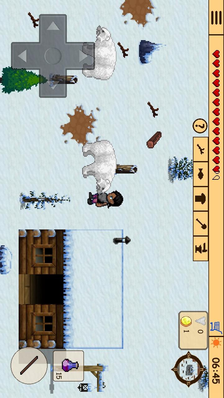 生存RPG 3:失落的时光冒险游戏截图