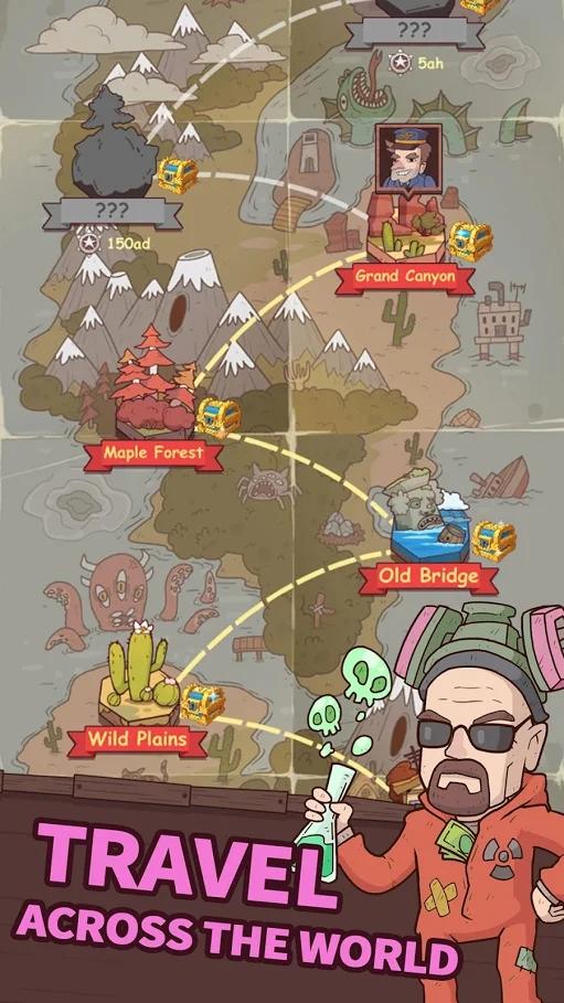 闲置铁路游戏截图