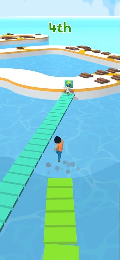 搭个桥快跑游戏截图