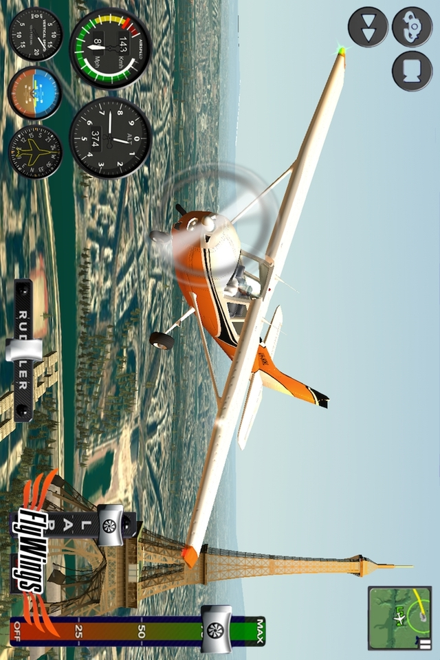 飞行模拟器2015游戏截图