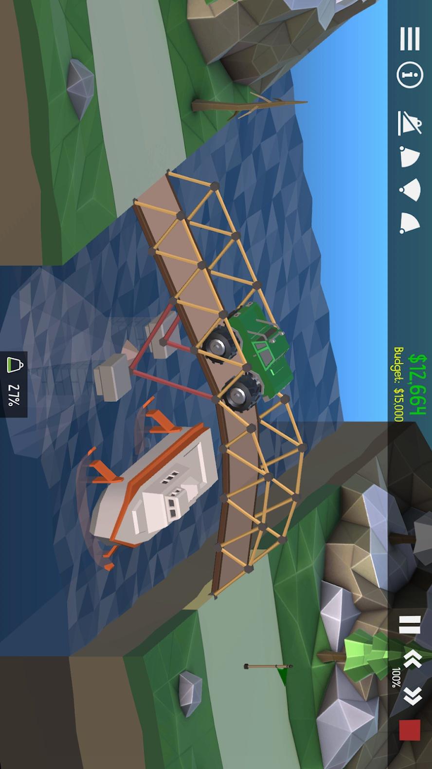 桥梁构造者2(B站超果果mc推荐)游戏截图