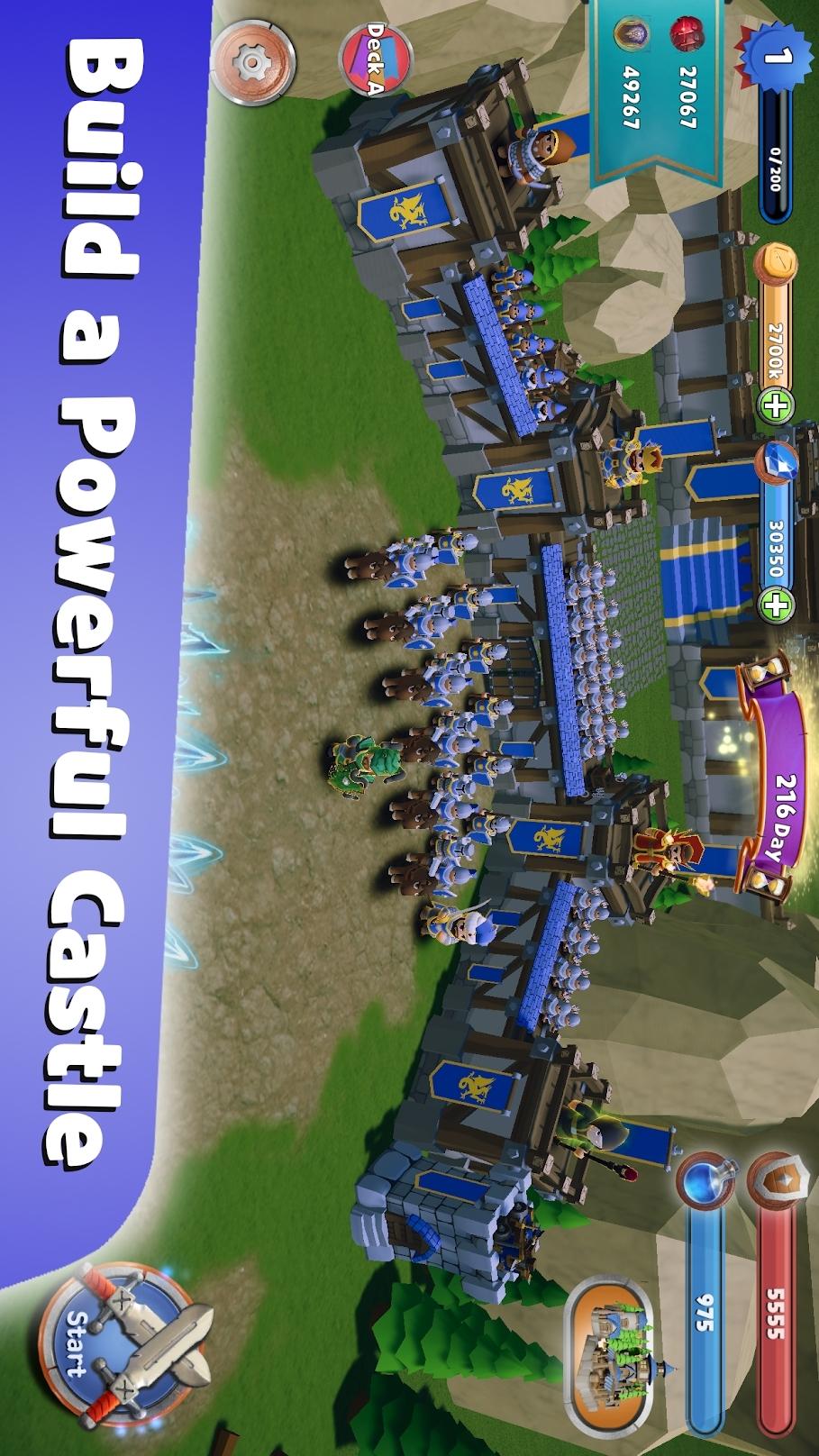 最后一个王国:防御游戏截图