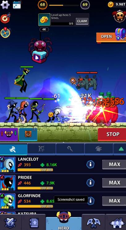 火柴人英雄:怪物时代游戏截图