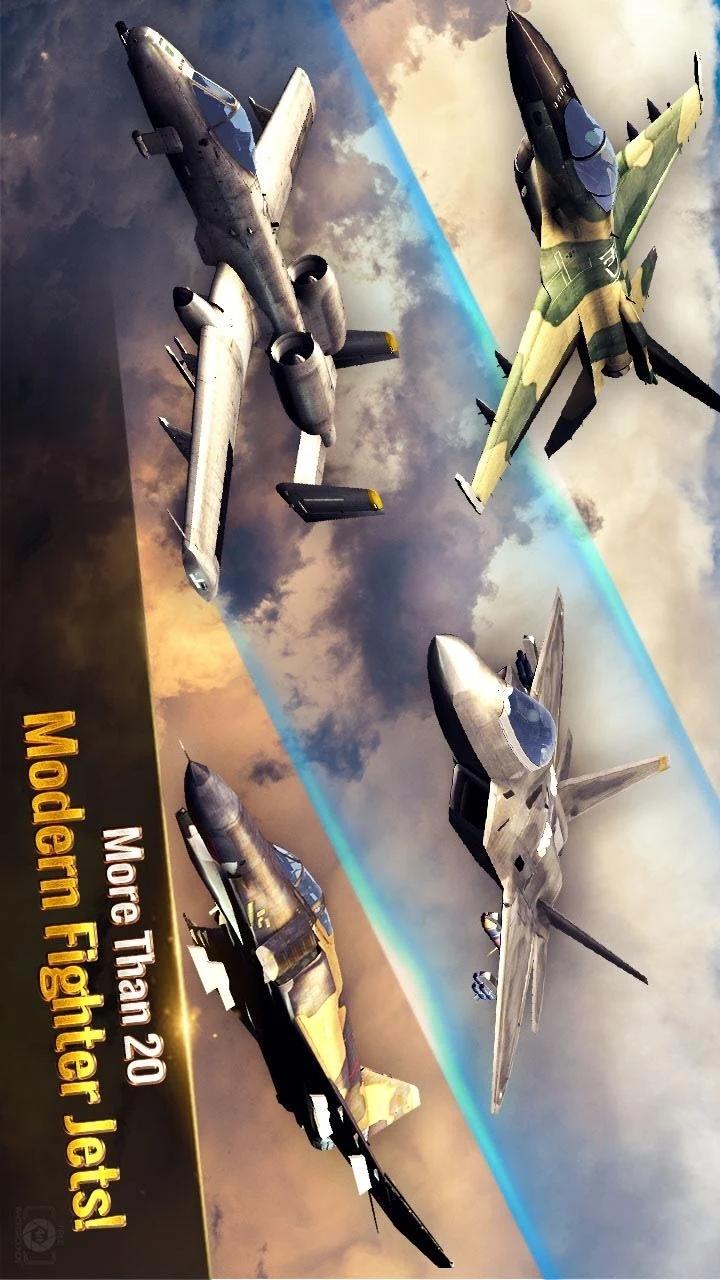 王牌战斗机:空战游戏截图
