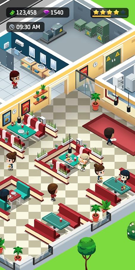 空闲餐厅大亨游戏截图