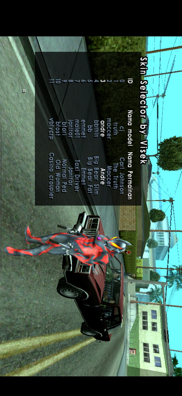 GTA:SA奥特曼版(奥特曼模组+内置菜单)游戏截图