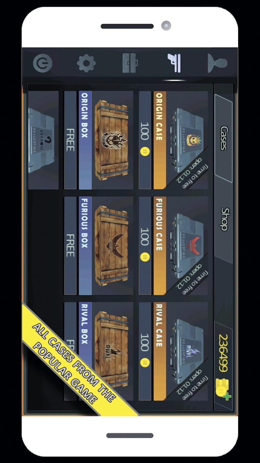 对峙2开箱模拟器游戏截图