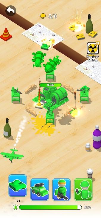 玩具军:抽签防守游戏截图