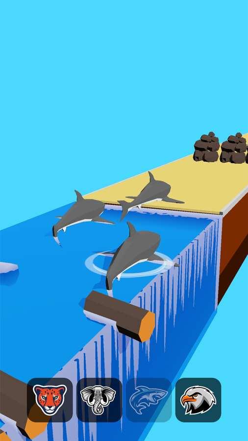 动物变形竞赛游戏截图