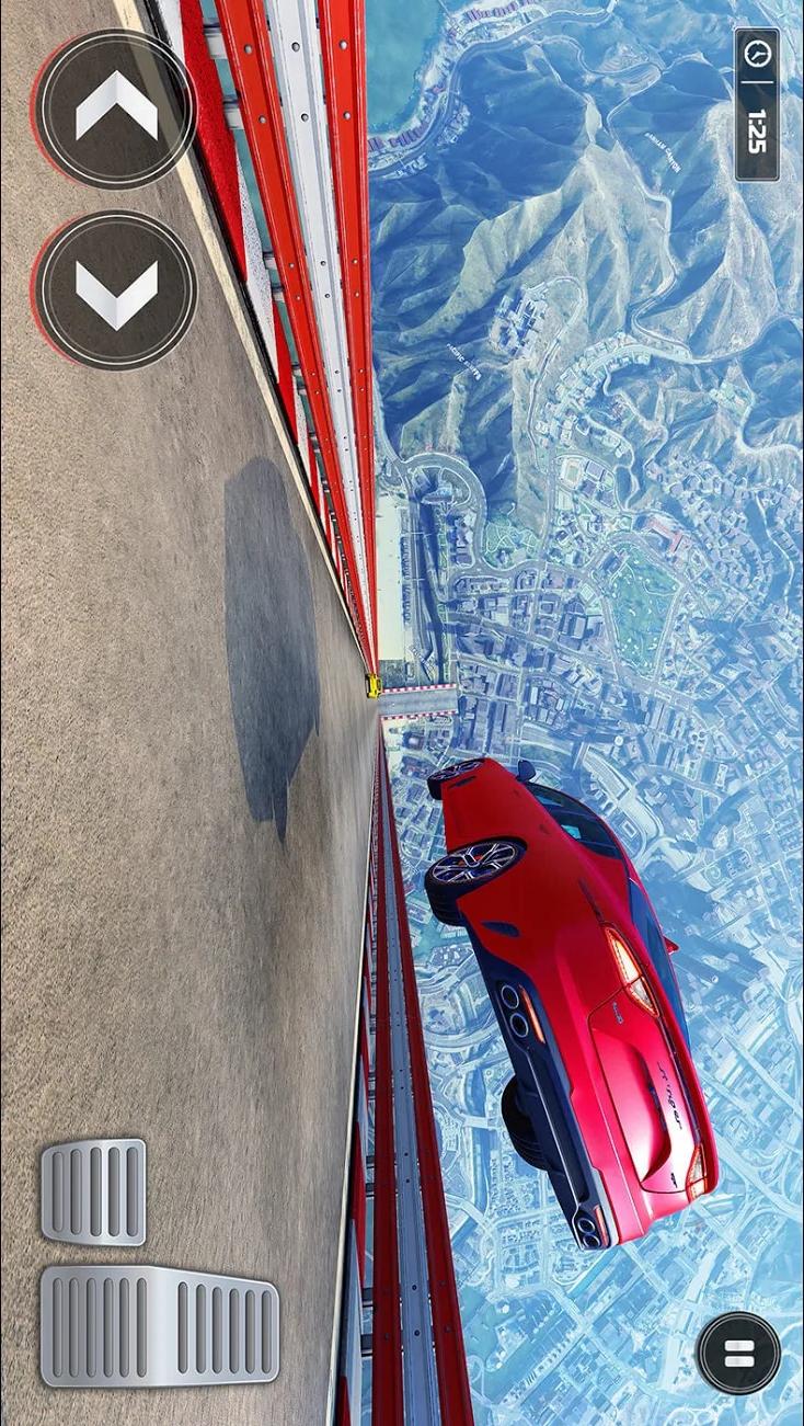 超级坡道:终极赛车游戏截图