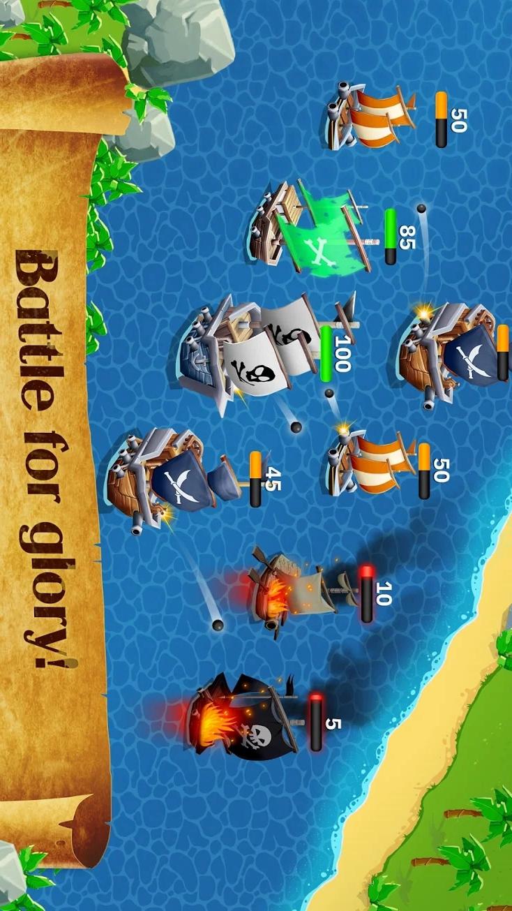 空闲海盗大亨游戏截图