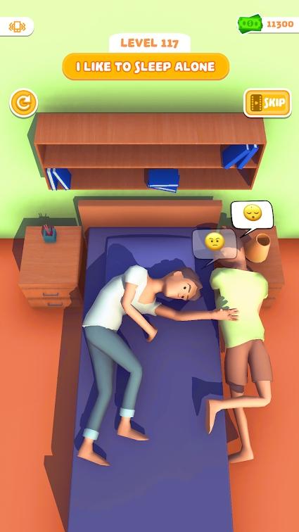 最佳睡姿游戏截图