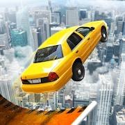 超级坡道汽车跳跃图标