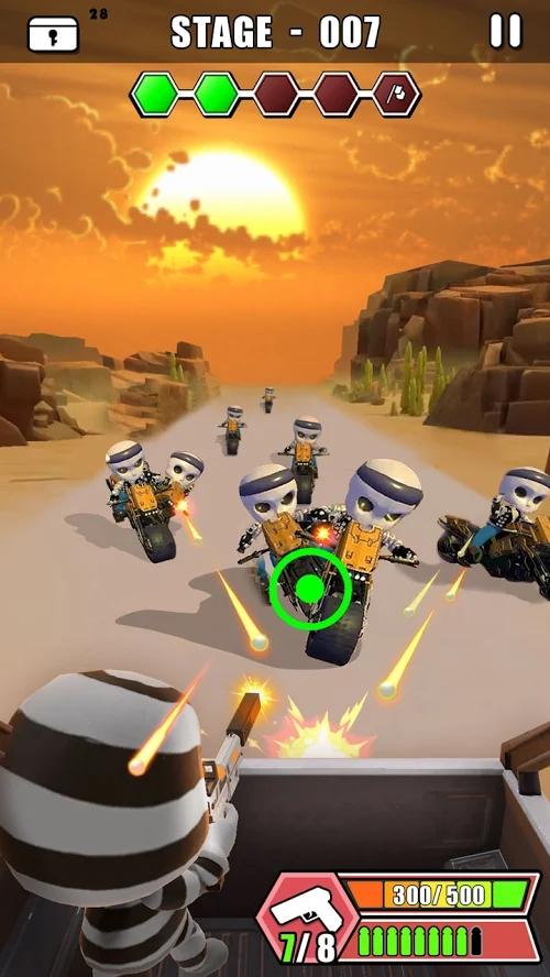 汽车射击游戏截图