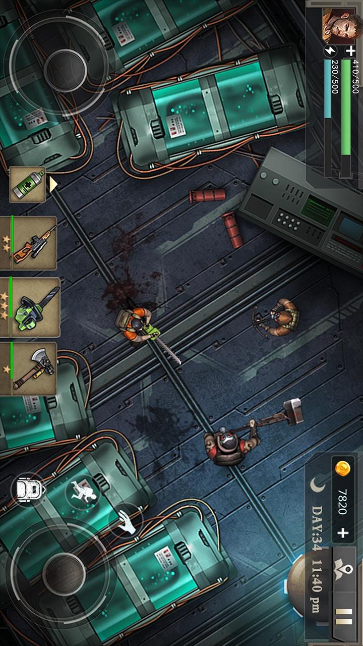 孤岛方舟:僵尸瘟疫战场PRO游戏截图