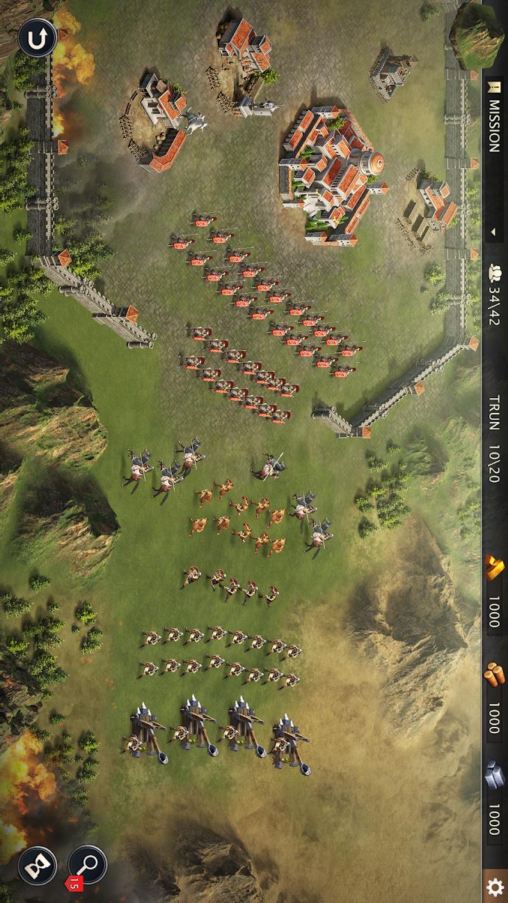 罗马帝国战争游戏截图